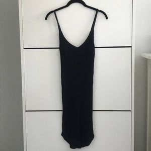 Urban Outfitters Ribbed Mid Length Slip Dress